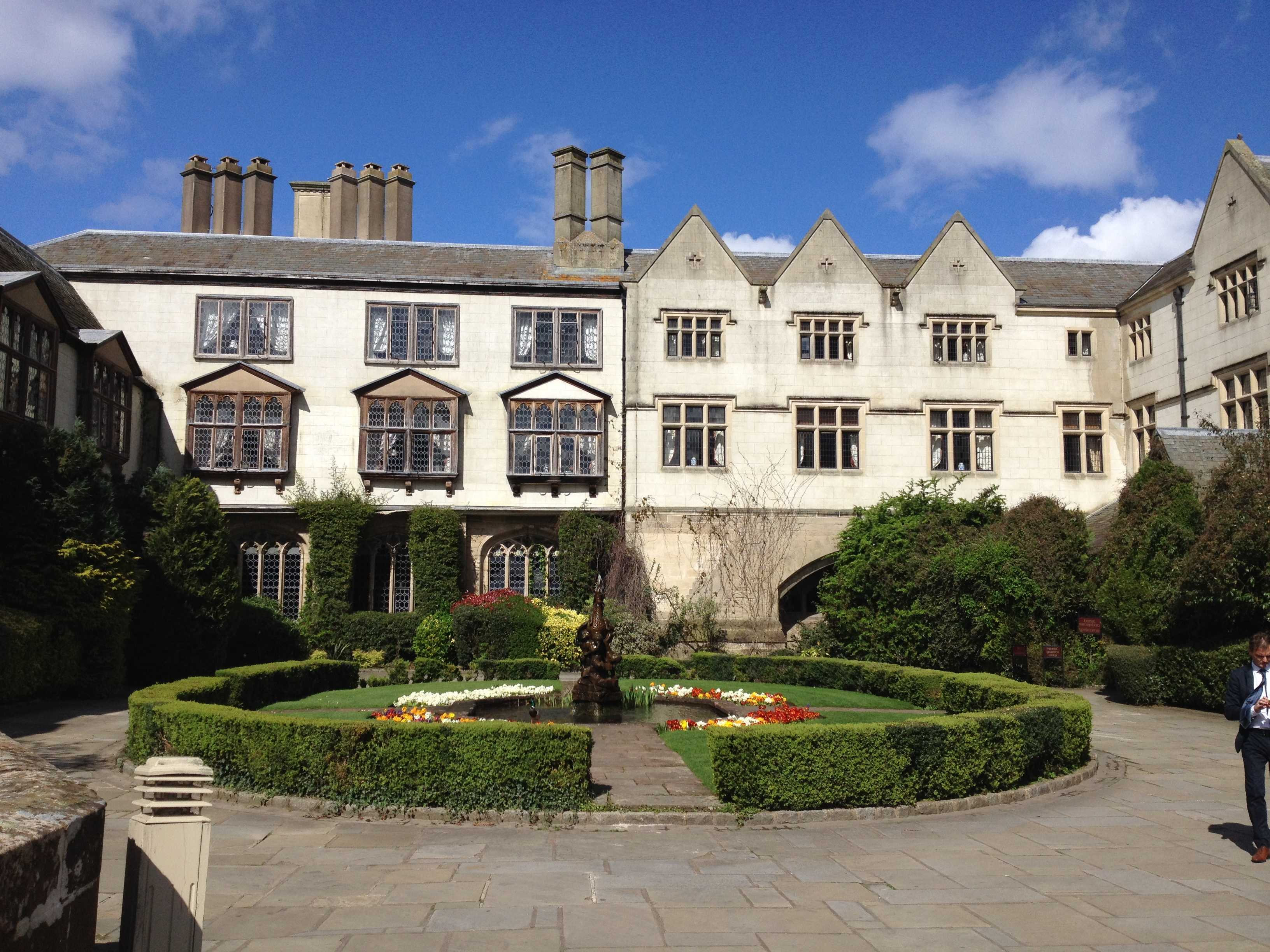A colour photo of the outside of the Coombe Abbey Hotel in Coventry.