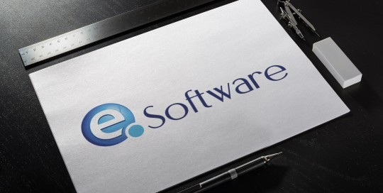 An image of the EQ Software logo on a sketch pad.