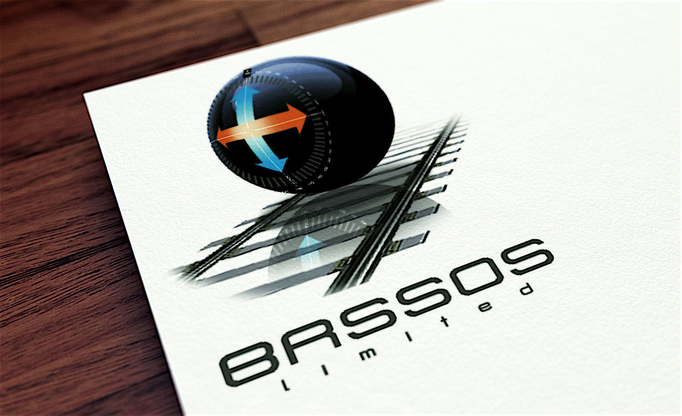 A logo concept for BROSSOS on paper..