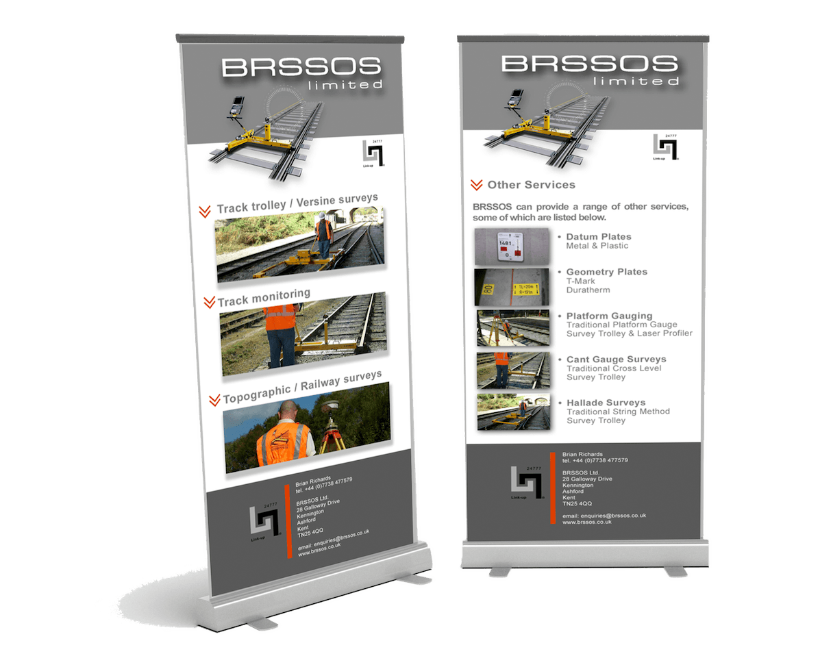 Exhibition Pull-Up Banner Design